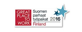 Suomen paras työpaikka