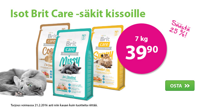 MM02 Brit Care kissa