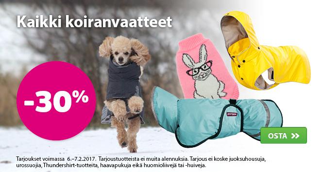 Vaatteet -20 %